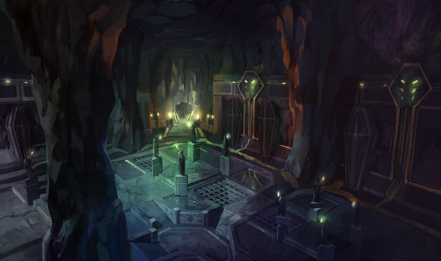 Концепт-арты новых локаций Chaotic Throne 3